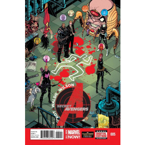 SECRET AVENGERS (2014) #5 VF+ - VF/NM MARVEL NOW!