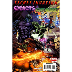 SECRET INVASION RUNAWAYS/YOUNG AVENGERS #'s 1, 2, 3 COMPLETE NM SET