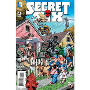 SECRET SIX (2014) #4 VF/NM