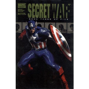 SECRET WAR #3 OF 5 VF/NM CAPTAIN AMERICA DELL'OTTO COVER