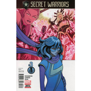 Secret Warriors (2017) #3 VF/NM Secret Empire Tie-In