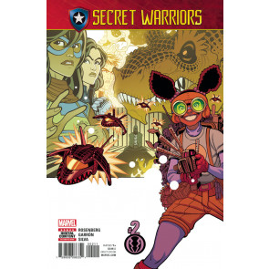 Secret Warriors (2017) #2 VF/NM Secret Empire Tie-In