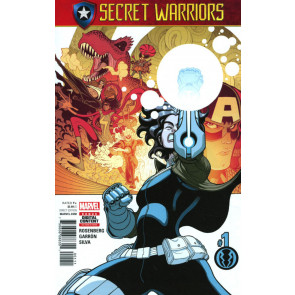 Secret Warriors (2017) #1 VF/NM Secret Empire Tie-In