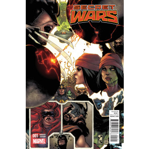 SECRET WARS (2015) #1 OF 8 VF/NM SIMONE BIANCHI VARIANT COVER