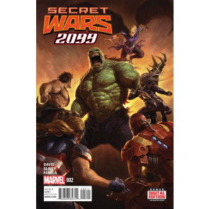 SECRET WARS 2099 (2015) #2 VF/NM BATTLEWORLD