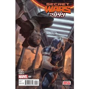 SECRET WARS 2099 (2015) #4 VF/NM BATTLEWORLD
