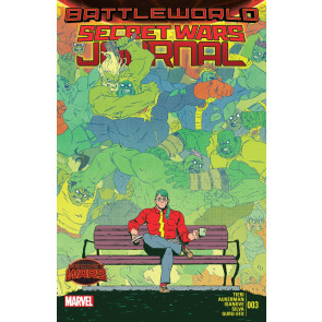 SECRET WARS JOURNAL (2015) #3 VF+ BATTLEWORLD