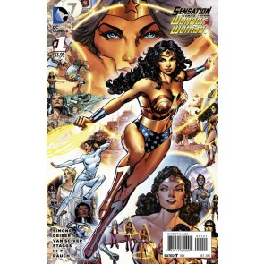 Sensation Comics Featuring Wonder Woman (2014) #1 VF/NM-NM Phil Jimenez Variant