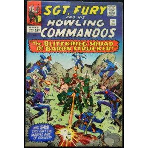 SGT. FURY AND HIS HOWLING COMMANDOS #14 VF 1ST BLITZ SQUAD