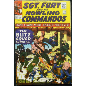 SGT. FURY AND HIS HOWLING COMMANDOS #20 VG/FN