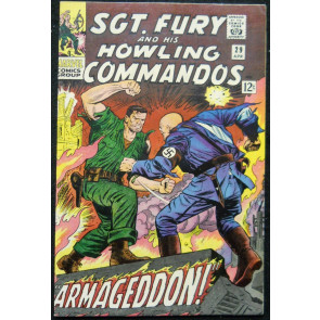 SGT. FURY AND HIS HOWLING COMMANDOS #29 VF+