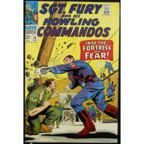 SGT. FURY AND HIS HOWLING COMMANDOS #39 VF+