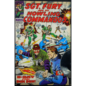 SGT. FURY AND HIS HOWLING COMMANDOS #59 FN+
