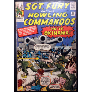 Sgt.Fury (1963) #10 VG (4.0) 1st app Captain Savage