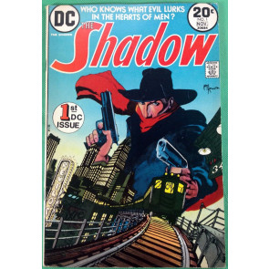 SHADOW (1973) #1 FN (6.0) classic Mike Kaluta cover and art