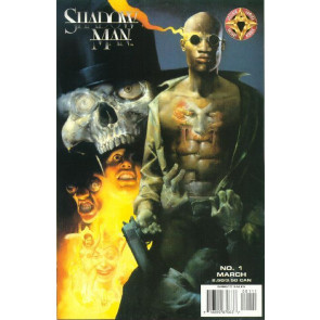 SHADOWMAN (1997) #1 NM VARIANT COVER GARTH ENNIS ACCLAIM COMICS