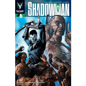 SHADOWMAN (2012) #6 COVER A NM VALIANT