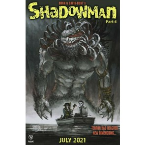 Shadowman (2021) #4 VF/NM Horror Homage Cover (Creature from Black Lake (1976)