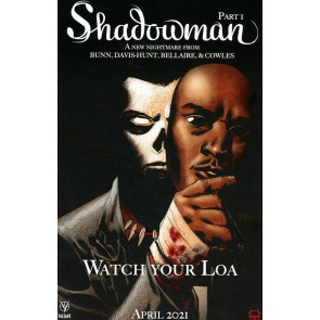 "Shadowman (2021) #1 VF/NM Horror Homage Cover C (Jordan Peele's ""Us"" from 2019)"