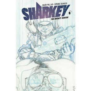 Sharkey the Bounty Hunter (2019) #6 VF/NM Simone Bianchi Sketch Cover Image