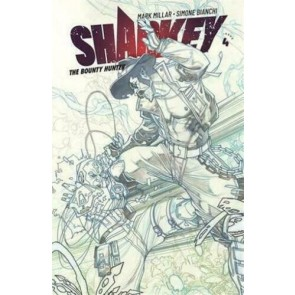 Sharkey the Bounty Hunter (2019) #4 VF/NM Simone Bianchi Sketch Cover Image