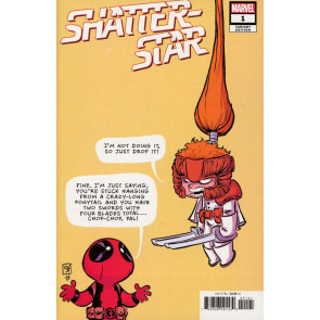 Shatterstar (2018) #1 VF/NM Skottie Young Variant Cover