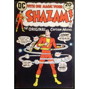 Shazam (1972) #5 FN+ (6.5) Captain Marvel