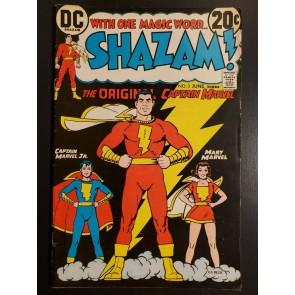 Shazam #3 (1973) F- (5.5) Ms. Marvel Capt. Marvel Jr. Cover C.C. Beck art|
