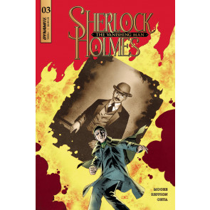Sherlock Holmes: The Vanishing Man (2018) #3 VF/NM John Cassaday Dynamite