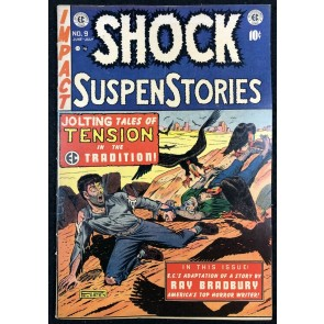 Shock SuspenStories (1952) #9 FN (6.0) Ray Bradbury Story EC Comics