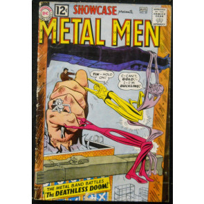 SHOWCASE #39 VG 3RD METAL MEN APPEARANCE