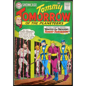 SHOWCASE #44 VG+ TOMMY TOMORROW