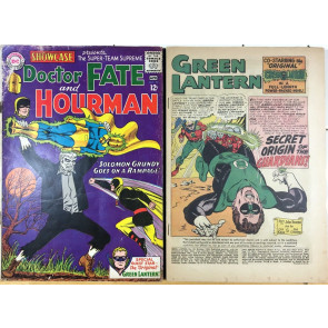 Showcase 55 Green Lantern 40 1st 2nd SA app Alan Scott 1st SA app Solomon Grundy