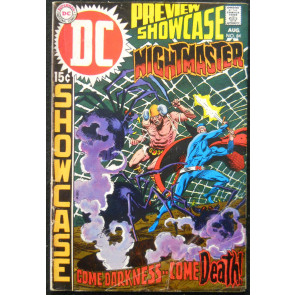 SHOWCASE #84 GD/VG NIGHTMASTER ORIGIN RETOLD BERNIE WRIGHTSON