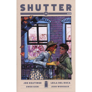 SHUTTER (2014) #18 VF/NM COVER A IMAGE COMICS
