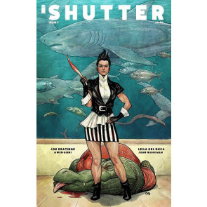 SHUTTER (2014) #7 VF/NM COVER B IMAGE COMICS