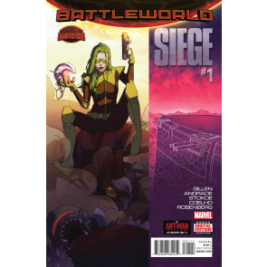 SIEGE (2015) #1 VF/NM SECRET WARS BATTLEWORLD