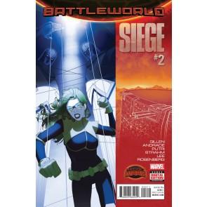 SIEGE (2015) #2 VF/NM (9.0) SECRET WARS BATTLEWORLD