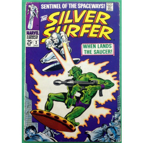 Silver Surfer (1968) #2 VG/FN (5.0) Brotherhood of Badoon