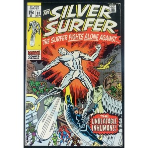 Silver Surfer (1968) #18 FN+ (6.5) Last Issue