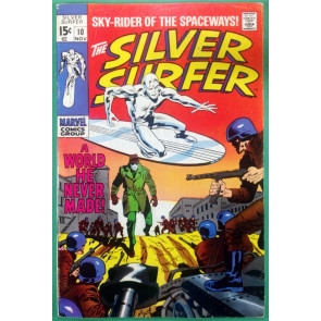 Silver Surfer (1968) #10 FN+ (6.5)