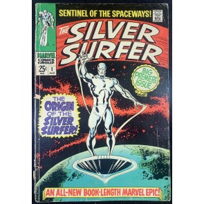 Silver Surfer (1968) #1 GD/VG (3.0)