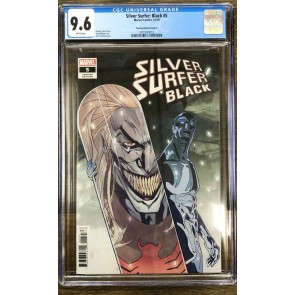 Silver Surfer Black (2019) #5 CGC 9.6 Tormey Null Variant Cover A (3701833012)