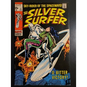 Silver Surfer #11 (1969) F/VF (7.0) Stan Lee Story John Buscema Cover/Art |