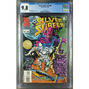 SILVER SURFER #109 CGC 9.8 NMM WP GALACTUS C/S LOW PR. TOP CENSUS ONLY 1 EXISTS|