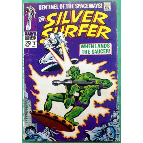 Silver Surfer (1968) #2 VG+ (4.5) Brotherhood of Badoon