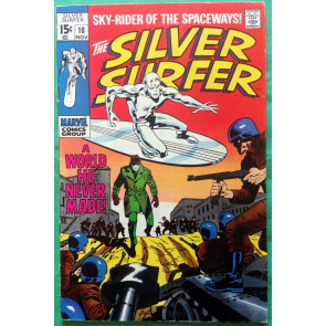 "Silver Surfer (1968) #10 FN+ (6.5) ""A World He Never Made"""