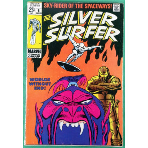 Silver Surfer (1968) #6 FN- (5.5)