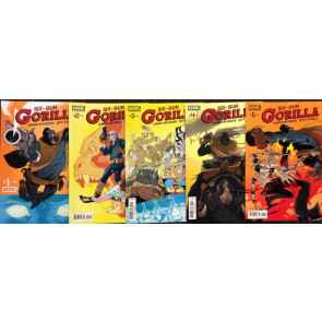 Six-Gun Gorilla  (2013) 1 2 3 4 5 near complete set missing #6  Boom Studios