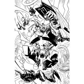 Skybound X (2021) #5 VF/NM 1:10 Retailer Incentive Cover E (Black & White)
